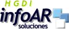 HGDI infoAR Soluciones Logo